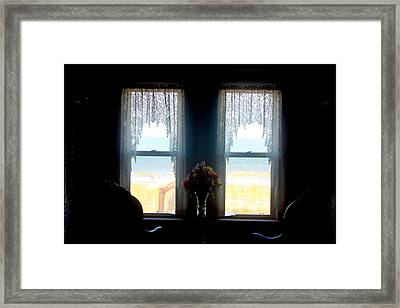 Ocean View Framed Print by Todd Breitling