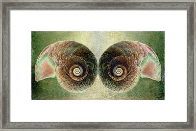 Ocean View Framed Print by WB Johnston
