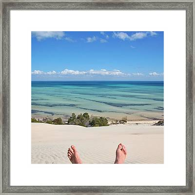 Ocean Views Framed Print