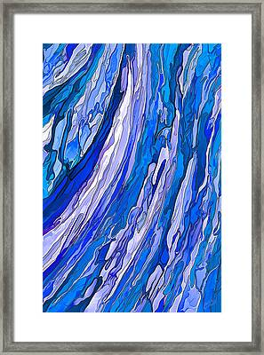 Ocean Wave Framed Print by ABeautifulSky Photography