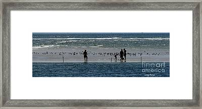 Ocean Way Framed Print by Greg Patzer