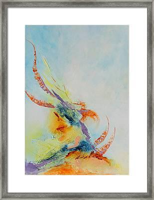 Oceane Framed Print by Francoise Dugourd-Caput