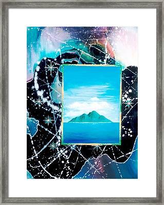 Oceanian Framed Print