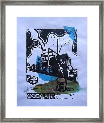 Oceanic Framed Print by Adam Kissel