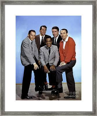 Ocean's 11 Promotional Photo. Framed Print