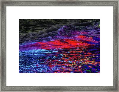 Oceans 2  Framed Print