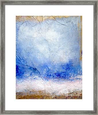 Ocean's Air Framed Print