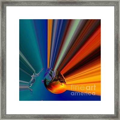 Oceans Bliss Framed Print