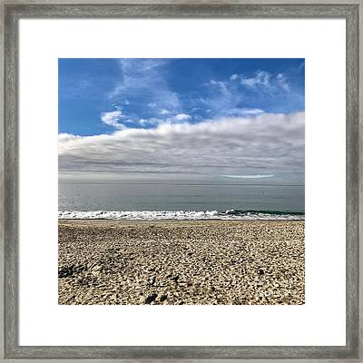 Ocean's Edge Framed Print
