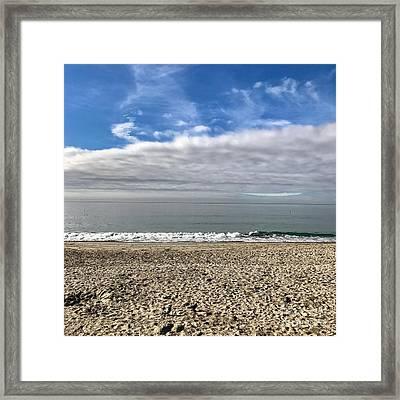 Ocean's Edge Framed Print by Kim Nelson