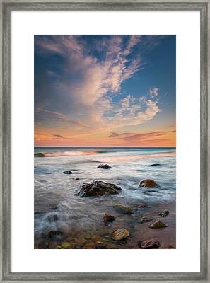Ocean's Jewels Framed Print
