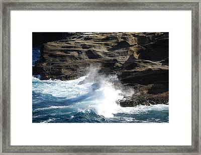 Oceans Framed Print by Lakida Mcnair