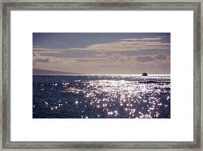 Oceans Light Framed Print by JAMART Photography