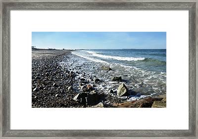 Oceanscape Framed Print