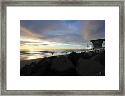 Oceanside 7  Framed Print