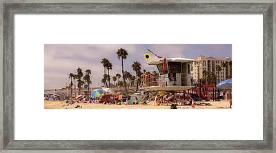 Oceanside Beach Framed Print