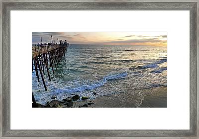 Oceanside Framed Print by Skip Hunt