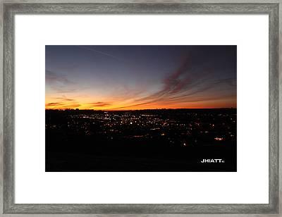 Oceanside Valley Framed Print