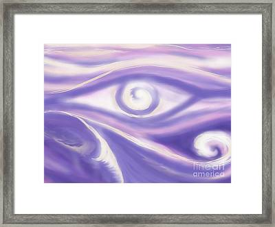 Oceansview09 Framed Print by Roxy Riou