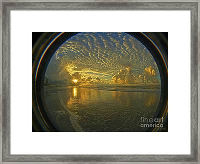 Oceanview Framed Print