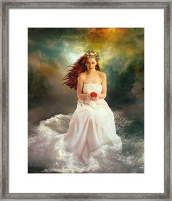 Oceciana Framed Print by Mary Hood