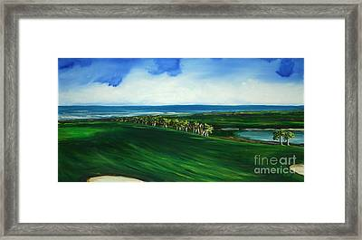 Oceon Hammock Fairway Framed Print by Michele Hollister - for Nancy Asbell