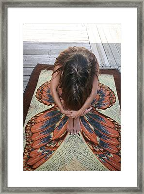 Framed Print featuring the photograph Ochopee Fl. Butterfly by Lucky Cole