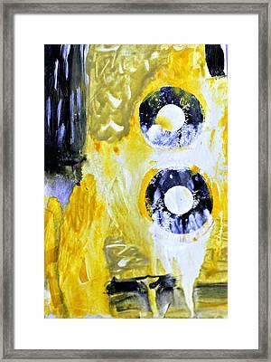 Ochre 23 Framed Print by Shelley Graham Turner