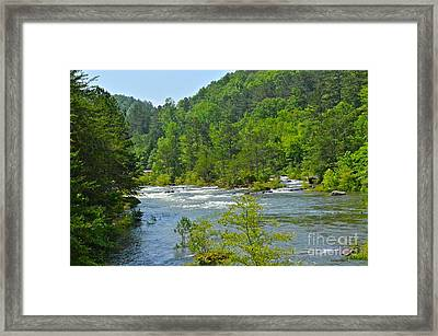 Ocoee River Framed Print