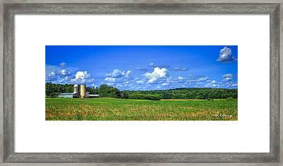 Oconee River Bottomland Framed Print by Reid Callaway