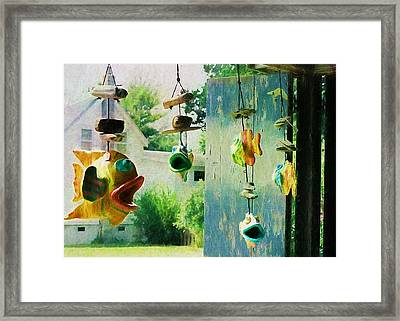 Ocracoke Fish Framed Print by JAMART Photography