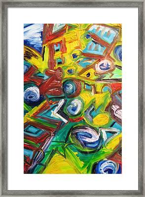 Octagon 1 Framed Print by Alfredo Dane Llana
