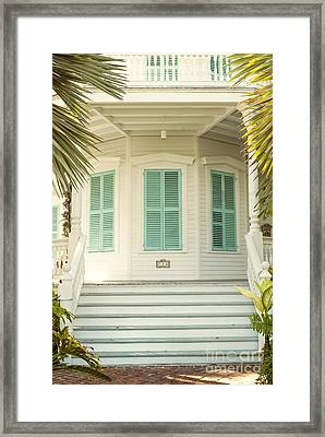 Octagon House Framed Print by Juli Scalzi
