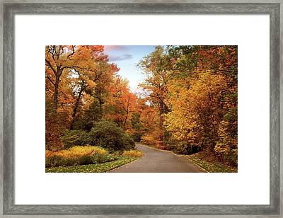 October Afternoon Framed Print by Jessica Jenney