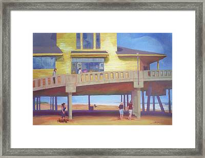 October At Johnnie Mercer's Framed Print by Carol Strickland