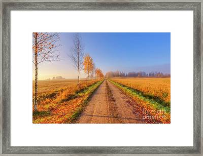 October Countryside 4 Framed Print