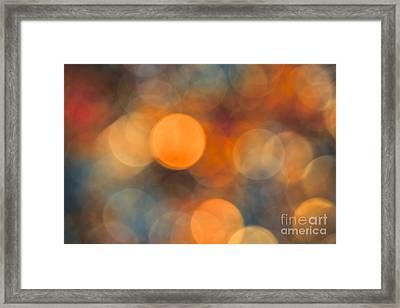 October Evening Framed Print
