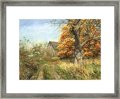 October Glory Framed Print