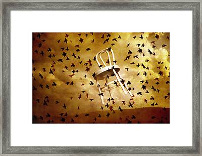 October Framed Print by Jeff  Gettis