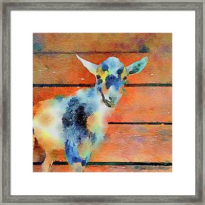 October Kid Framed Print by Michele Ross