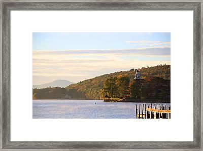 October Landing Framed Print by Michael Mooney
