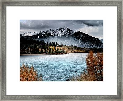 October Morning Framed Print