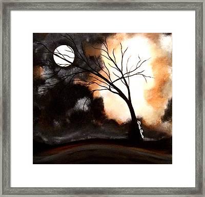 October Night 4 Framed Print by Linda Powell