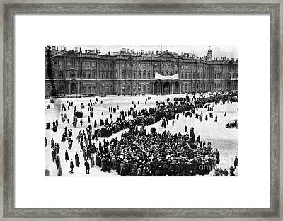 October Revolution, Storming Winter Framed Print by Science Source