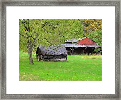 October Saturday Afternoon Framed Print by Terry  Wiley