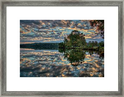 Framed Print featuring the photograph October Skies by Douglas Stucky