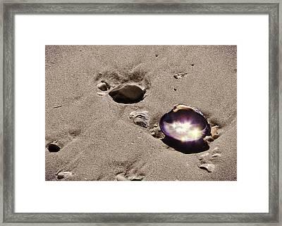 October Sparkling Framed Print by JAMART Photography