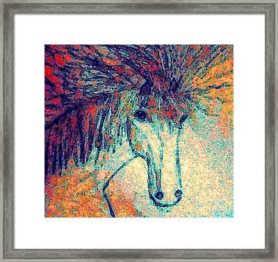 October Spectra Framed Print by Holly Martinson
