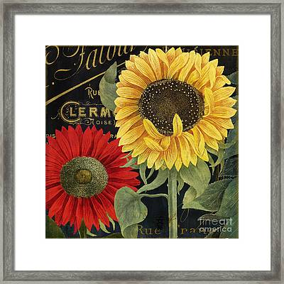 October Sun II Framed Print by Mindy Sommers