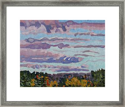 October Sunrise Framed Print by Phil Chadwick